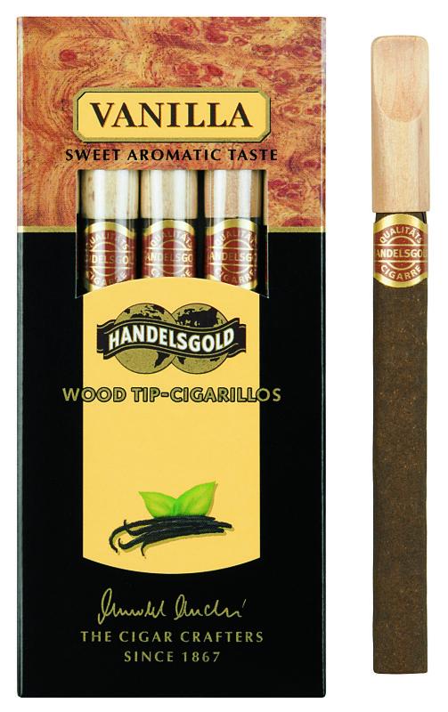 Сигариллы handelsgold wood tip-sigarillos black