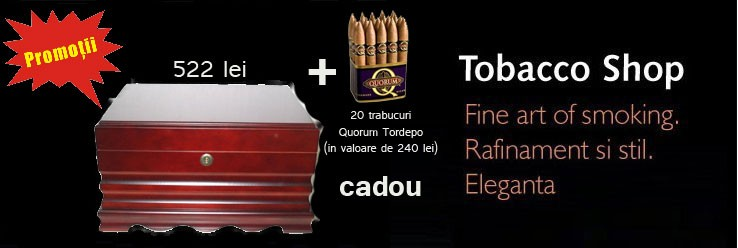 Umidor 506182 cu Quorum Torpedo cadou