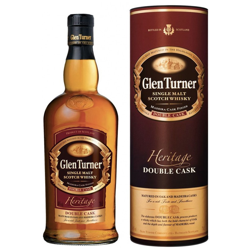Glen Turner Heritage Reserve Double Cask 70cl 40% Whisky