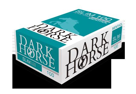 Tuburi tigari Dark Horse 100 Slim Menthol Extra Long Filter