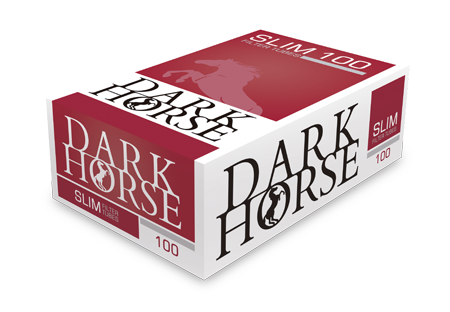 Tuburi tigari Dark Horse 100 Slim Full Flavour Long Filter
