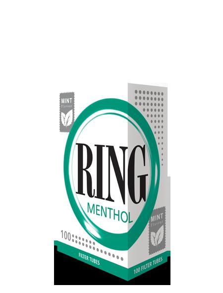 Tuburi tigari Ring 100 menthol