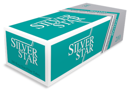 Tuburi tigari Silver Star 200 menthol