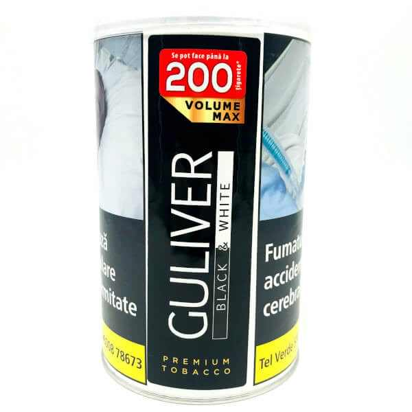 Tutun Guliver Volume Max 90g Black&White
