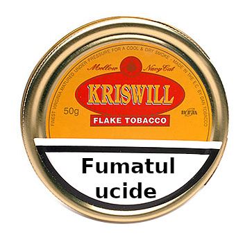 Tutun de pipa Kriswill Golden Navy Cut Flake 50g