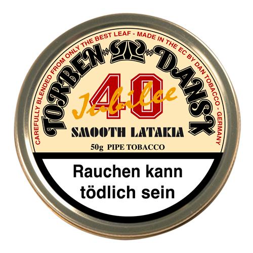 Tutun de pipa Torben Dansk 40 Jubilee Smooth Latakia 50g