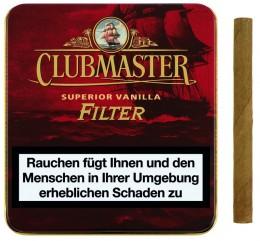 poza Tigari de foi Clubmaster Superior Vanilla Filter 10