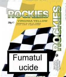 poza Tutun pentru rulat tigari Rockies Yellow Virginia