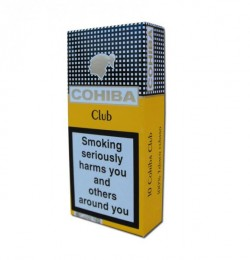 poza Tigari de foi Cohiba Club 10 cigarillos