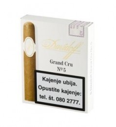 poza Trabucuri Davidoff Grand Cru No. 5 Cello 5