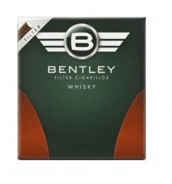 poza Tigari de foi Bentley Filter Whisky 20