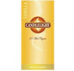 poza Tigari de foi Candlelight Mini Vanilla 10