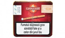 poza Tigari de foi Candlelight Mini Whisky 10