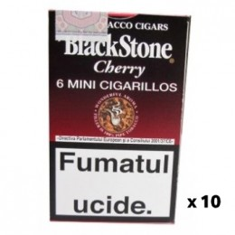 poza Tigari de foi BlackStone Mini Cigarillos Cherry 60