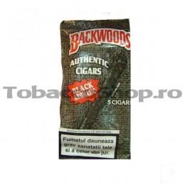 poza Tigari de foi Backwoods Black