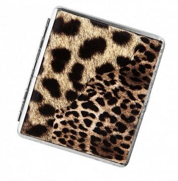 poza Tabachera Angelo leopard decor 18 tigari