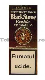 poza Black Stone Tip Cigarillos Vanilla
