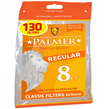 poza Filtre Palmer Regular 8 (130/punga)