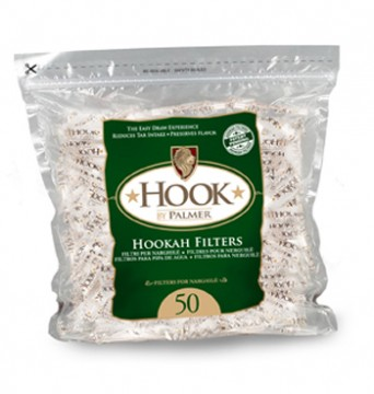 poza Palmer Hookah filters bag 50