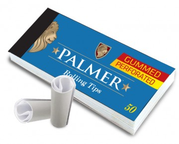 poza Palmer Paper Filters S gummed perforated