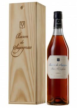 poza Armagnac Baron De Sigognac 1991 Gift Box, 70cl,40%
