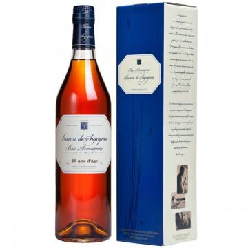 poza Armagnac Baron De Sigognac De 20 Ani Gift Box,70cl,40%