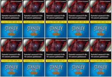 poza Tutun tigari Stanley Blue 35g = 10 pachete