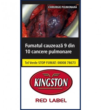 poza Tutun Tigari Kingston Red Label 35g