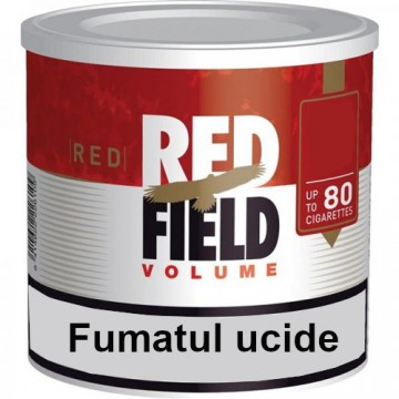 poza Tutun Tigari Red field volume tin 30g, tutun injectat tigari