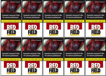 poza Tutun Tigari Red field volume 35g 10pac, tutun injectat tigari