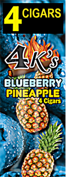 poza Tigari de foi 4Ks Blueberry Pineapple