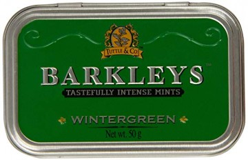 poza Bomboane Mentolate Barkleys Wintergreen