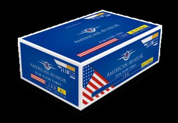poza Tuburi tigari American Aviator 100 full flavour extra long filter slim