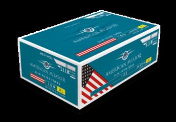 poza Tuburi tigari American Aviator 100 menthol extra long filter slim