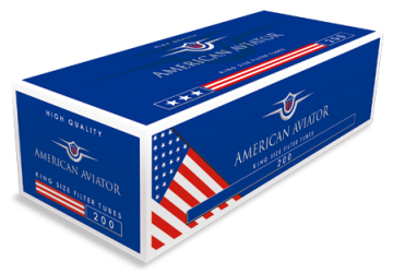 poza Tuburi tigari American Aviator 200 full flavour