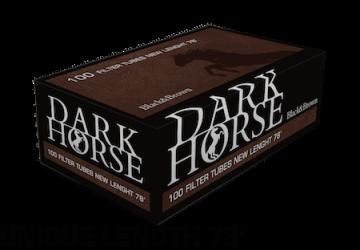 poza Tuburi tigari Dark Horse 100 Black n Brown