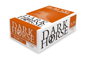 poza Tuburi tigari Dark Horse 100 Slim Full Flavour Extra Long Filter