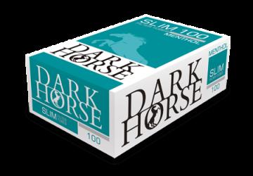 poza Tuburi tigari Dark Horse 100 Slim Menthol Extra Long Filter