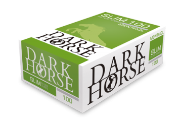 poza Tuburi tigari Dark Horse 100 Slim Menthol Long Filter