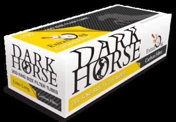 poza Tuburi tigari Dark Horse 200 Carbon cu filtru 24
