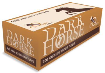 poza Tuburi tigari Dark Horse 200 Copper Edition
