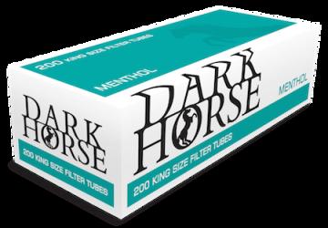 poza Tuburi tigari Dark Horse 200 menthol