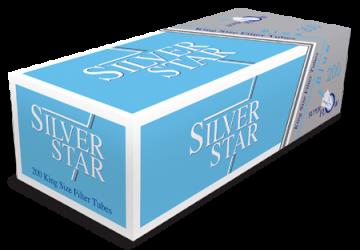 poza Tuburi tigari Silver Star 200 blue
