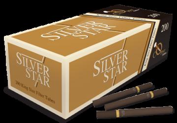 poza Tuburi tigari Silver Star 200 Copper Edition