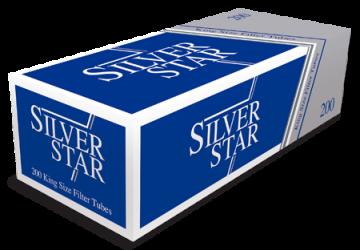 poza Tuburi tigari Silver Star 200 full flavour