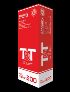 poza Tuburi tigari T&T 200 full flavour