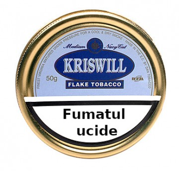 poza Tutun de pipa Kriswill Classical Navy Cut Flake 50g