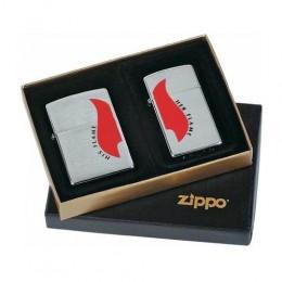poza Set brichete Zippo 290.057 His Flame/Her Flame