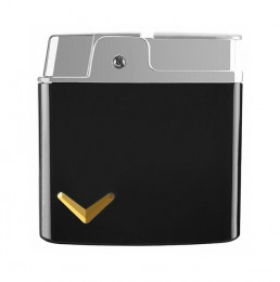 poza Bricheta Ronson Plume black lighter