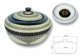 poza Vas pt tutun porcelaine & bambou CHACOM CC-600 NOIR